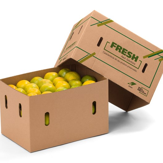 Packaging for fruit, greens and vegetables