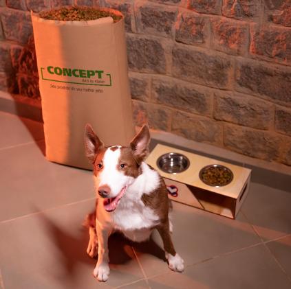 Coffee packaging, flour and bran packaging and pet food packaging