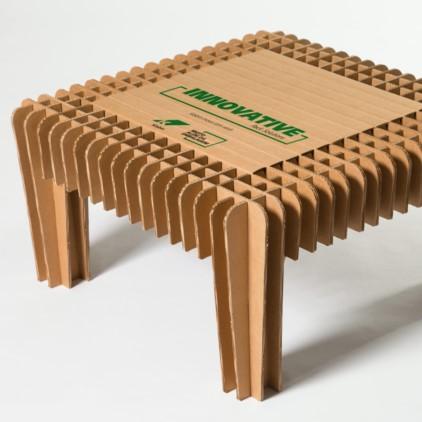 BrMuebles de cartón corrugado