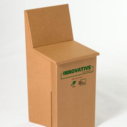 Muebles de cartón corrugado